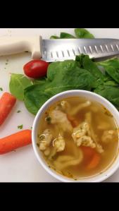 Paprika Chicken & Spaetzel Soup