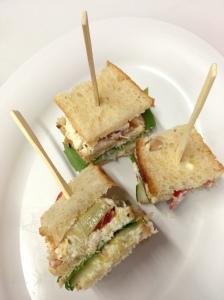 Double Decker Tea Sandwich