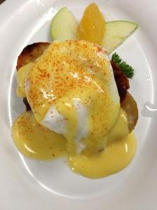 Potato, Egg & Bacon Benedict