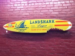 Landshark Surf Board
