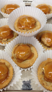 caramel peanut pretzel shortbreads