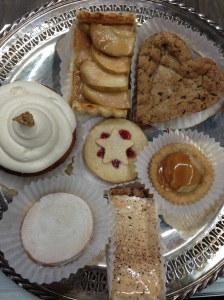 Today's dessert plate