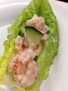 Shrimp & Cucumber Wrap
