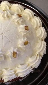 Skiprock Apple Cake with Honey Cream