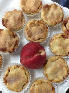 Mini White Peach Pies
