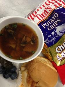 Tuekry Slider & Beef Mushroom Soup