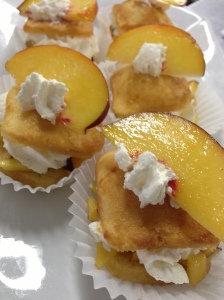 Peaches n' Cream Cake