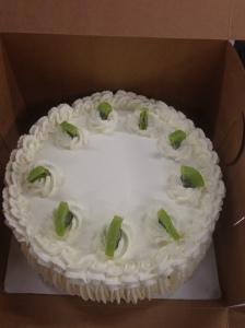 Kiwi Lime Cake