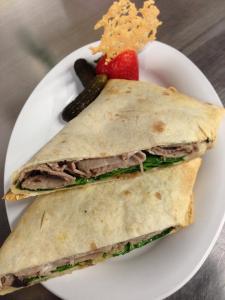 Beef & Gorgonzola Wrap