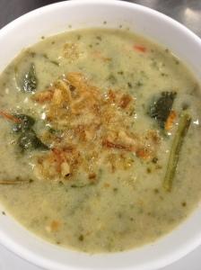 Creamy Italian Spinach Soup