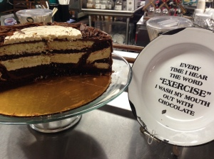 Chocolate Chestnut Puzzle Cake