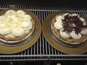 cream pies
