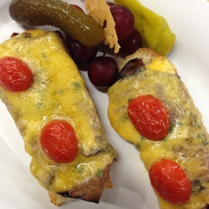 Beef & Cheddar Canape