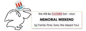 closed memorial