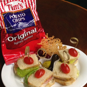 Mini Sandwiches with Chips