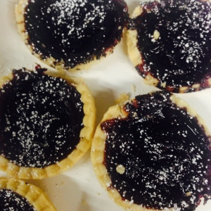 Blueberry Apple Tarts