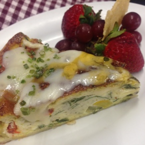 Pesto Primavera Quiche