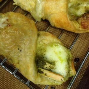 Chicken Pesto Mozzarella Pastry